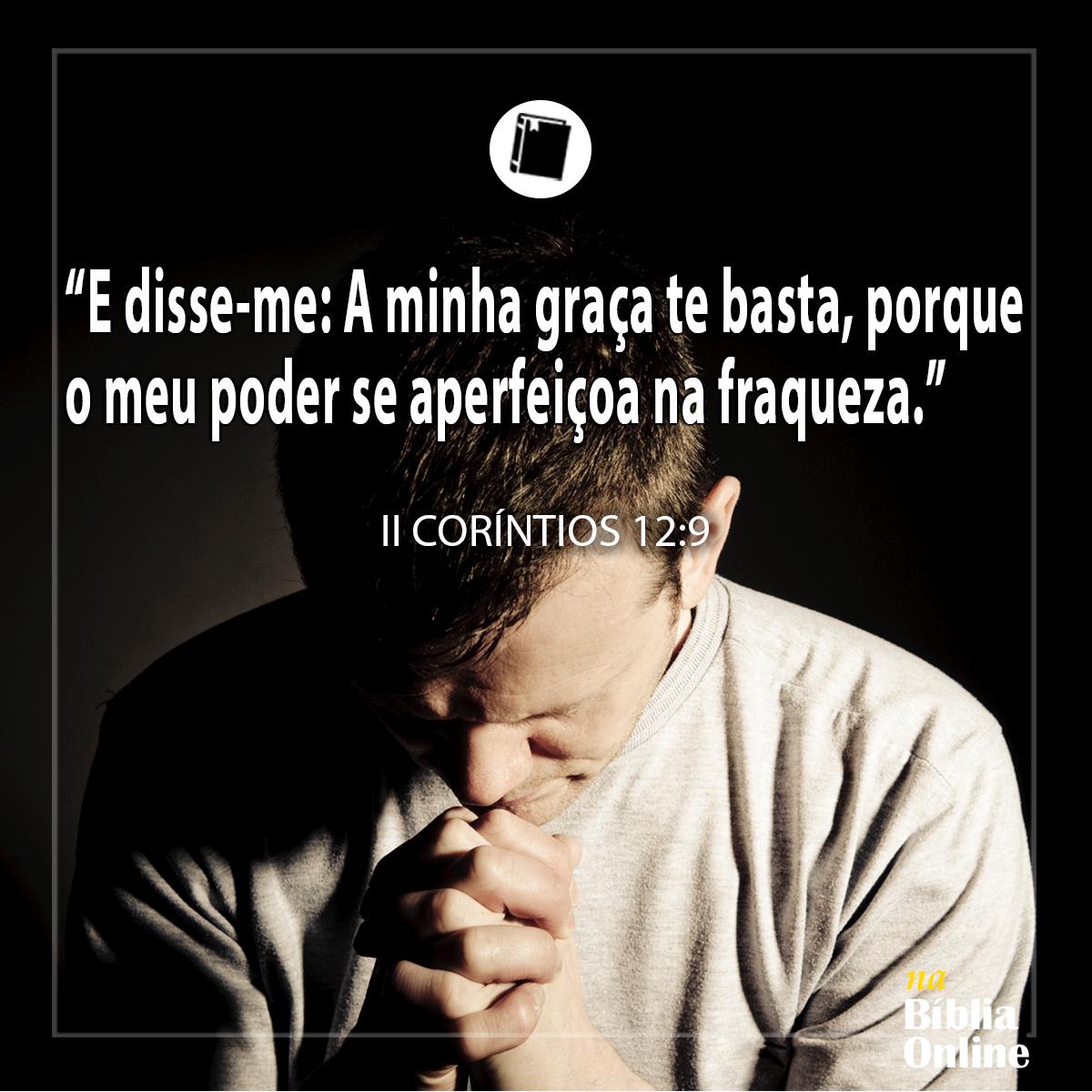 2 Coríntios 12:9