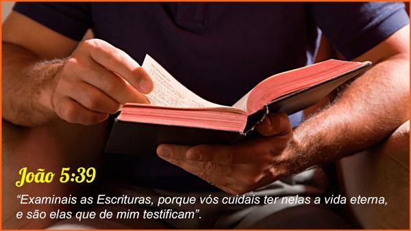 João 15:39 - Examinais as Escrituras