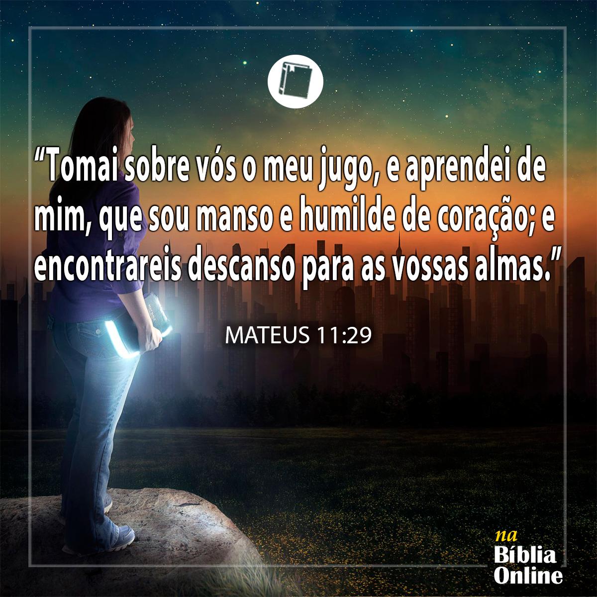 Mateus 11:29